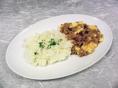 マーボー豆腐飯