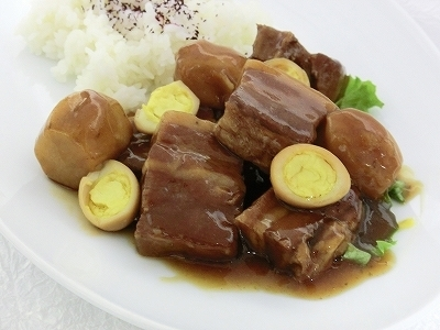 豚のコーラ煮&ライス