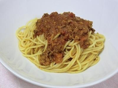 門特製ミートソーススパゲティ